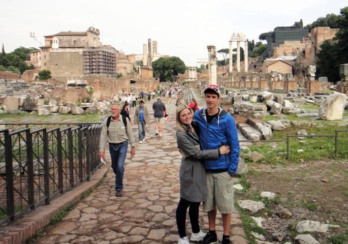 Backpacking Europe in 2012. Not too concerned with style. :)